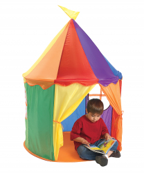 Pop-Up Rainbow Circus Tent