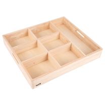 Wooden Sorting Tray - 7 way