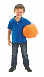 Rubber Playground Balls - Set of 6