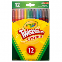 Crayola Twistables Crayons - Pack of 12