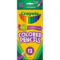 Crayola Full Size Coloured Pencils