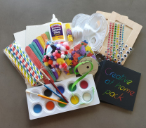 'Creative at Home' Art and Craft Pack