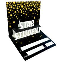 3D Pop Star Student Certificates