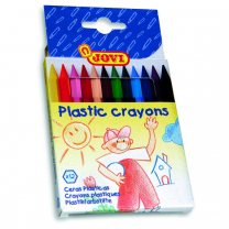 Jovi Plastic Crayons - Pack of 12