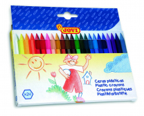 Jovi Plastic Crayons - Pack of 24