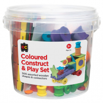 Construct and Play Set - Assorted Colours