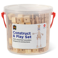 Construct and Play Set - Natural