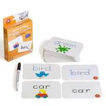 Sight Words Write & Wipe Flash Cards
