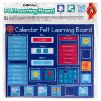 Calendar Felt Learning Board