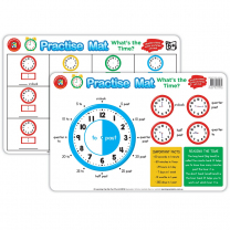 Practise Mat - What's the Time
