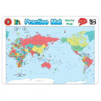 Practise Mat - World Map