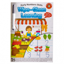 Early Numbers Wipe-Clean Activity Book