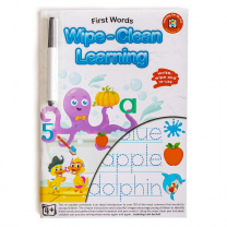 First Words Wipe-Clean Activity Book