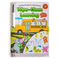 Getting Ready for Big School Wipe-Clean Activity Book