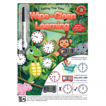 Telling The Time Wipe-Clean Activity Book