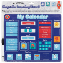 Calendar Magnetic Learning Board