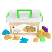 Natural Sensory Sand with Moulds - 2kg