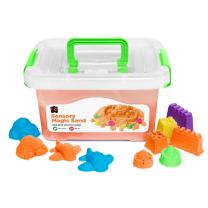 Orange Sensory Sand with Moulds - 2kg