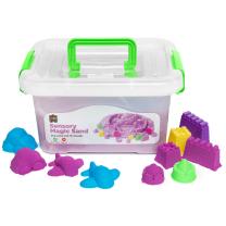 Purple Sensory Sand with Moulds - 2kg