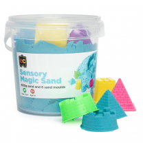 Sensory Sand with Moulds - Blue