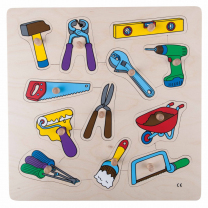 Tools Wooden Puzzle
