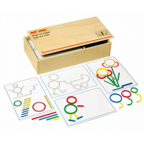 Rings and Sticks Geometry Activity Set