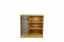 Creative 3 Layer Unit with Tub Rack
