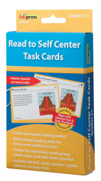Read To Self Centre Task Cards