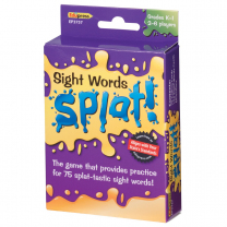 Sight Words Splat Game Level 1