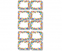 Confetti Whiteboard Erasers - Pack of 10