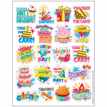 Birthday Reward Stickers