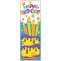 Colour My World Happy Birthday Bookmarks
