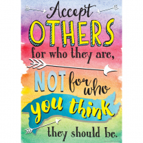 Accept Others For Who They Are Poster