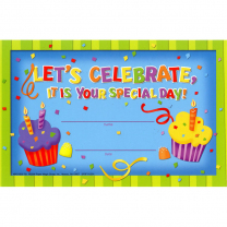 Let's Celebrate - Birthday Certificates