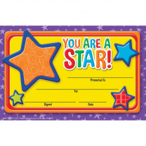 You are a Star! Certificates
