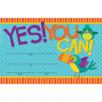 Yes! You Can! Certificates
