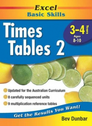 Excel Basic Skills Workbooks: Times Tables Years 3-4