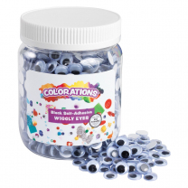 Self-Adhesive Wiggly Eyes - 1000 Pieces
