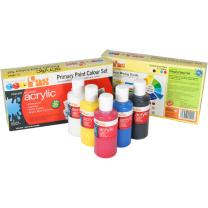 Acrylic Primary Paint Colour Set