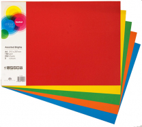 Card A4 Bright Colours 160gsm
