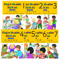 Jolly Phonics Big Books 1-7
