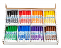 200 Crayola Classic Washable Marker Classpack