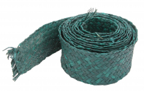 Green Woven Trimmer - 7.5cm wide