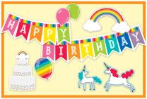 Happy Birthday Rainbow Gift Voucher