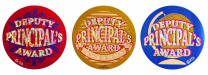 Deputy Principal's Coloured Stickers Large