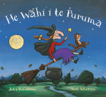 Room on the Broom - He Wahi i te Puruma Book