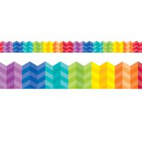 Rainbow Herringbone Trimmers