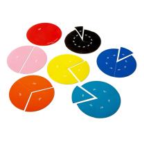 Rainbow Angle Circles Magnetic Demonstration Set