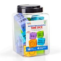 Multiple Representation Time Foam Dice - Pack of 16