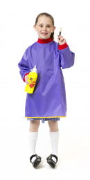 Junior Artist Smock - Purple